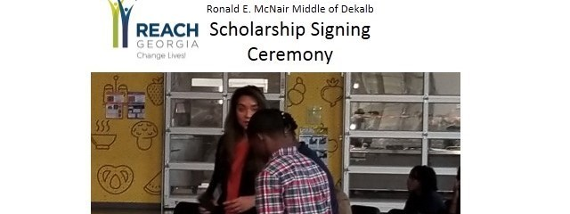 Student REACH signing